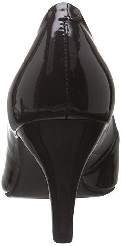 Pompe Caprice Damen 22409 Grau (dk Gray Patent 225)