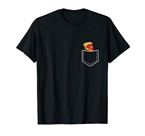 - Funny Awesome Pizza Slut Food In My Pocket Men Women Tshirt