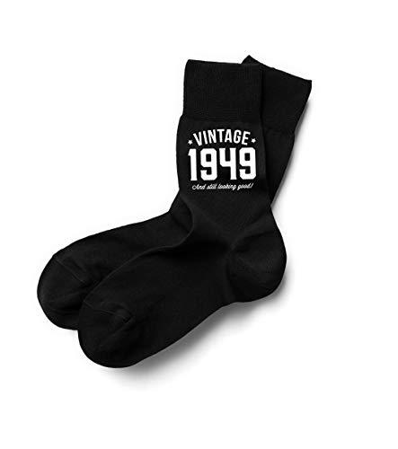 70th Birthday 1949 Birthday Gift Vintage Socks Keepsake Idea 70 Years Old