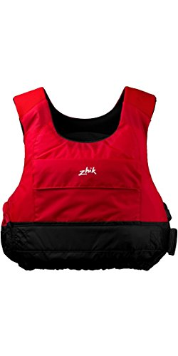Zhik Racing Cut 50N PFD Kayak Dinghy Sailing PFD Buoyancy Aid for Watersports Red - Unisex - Neoprene Wetsuit Shoulder Straps from Zhik