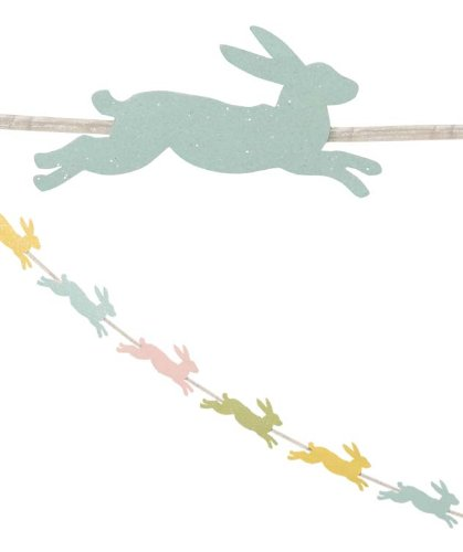 BETHANY LOWE Bunny Hop Paper Garland