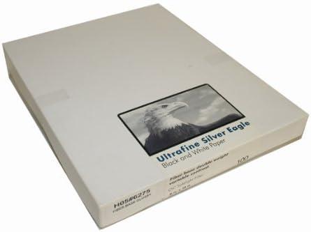 Ultrafine Silver Eagle FB Fiber Base VariGrade VC 255g DW Glossy 8x10 100 Sheets