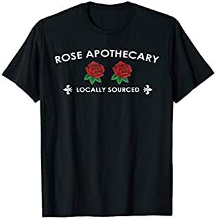 Perfect Gift Rose Apothecary Locally Sourced Tshirt |Rose Lover Need Funny TShirt / Navy / S - 5XL