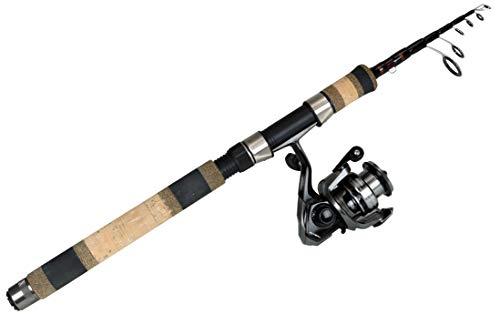 Okuma Fishing Tackle VSX-601ML-20-T Voyager Select Travel Kit Telescopic Spinning Combo, ()