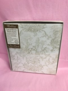 C. R. Gibson Library Bound Wedding Toile Photo Album