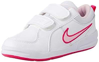 Nike Australia Pico 4 (PSV) Girls Trainers, White/Prism Pink-Spark, 1 US