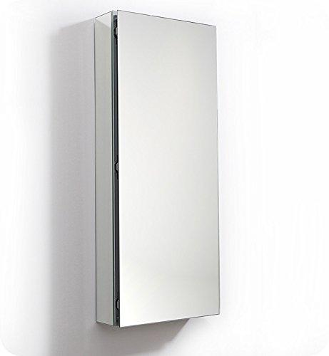Fresca 15 inch Wide x 36 inch Tall Bathroom Medicine Cabinet -