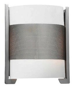 Access Lighting 20739-BS/OPL 2 Light Iron Wall Lamp, Brushed