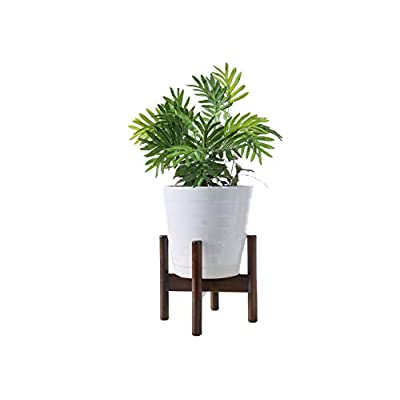 Plant Stands Indoor, Mid Century Modern Plant Wood Indoor Flower Pot Holder Fits Max 7