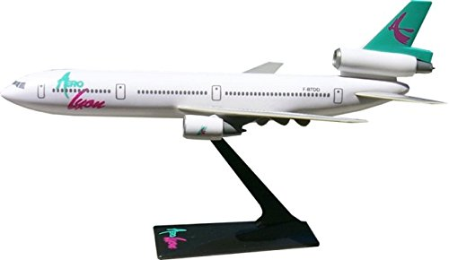 Flight Miniatures Aerolyon Airlines France Douglas DC-10 1:250 Scale REG#FBTDD Display Model with Stand