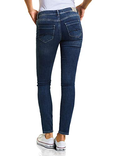 Random Jeans Bleach Street authentic Blau Donna Slim 11551 One 500qxaSY
