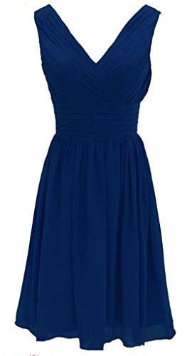Drasawee Kleid Blau A Damen Linie x01waqTF0