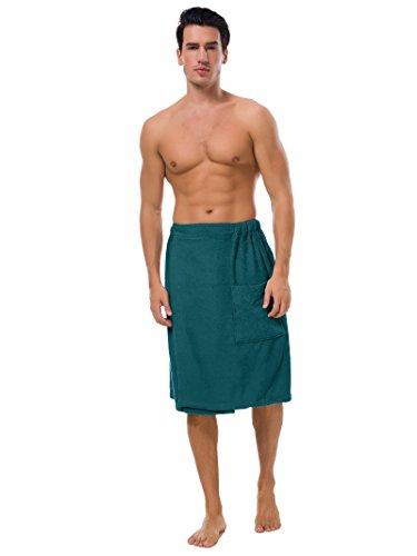 SIORO Men's Terry Cotton Bath Robe for Men