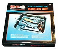 Grip 67442 9-1/2 x 10-Inch Magnetic Parts Tray