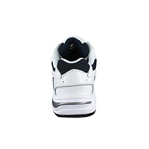 Vionic Men's Men's Walker Shoe White Navy 9 / W & Travel Sunscreen Spray Bundle by Vionic, USA (Image #4)