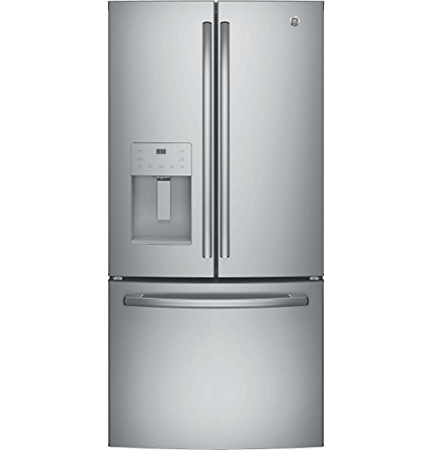 GE GFE24JSKSS 23.8 Cu. Ft. Stainless Steel French Door Refrigerator – Energy Star