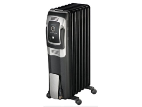 8b099c4d805 This Honeywell 7 Fin oil filled radiator heater is a great choice when you  need a temporary heating solution. The thermostat feature allows you to  easily ...