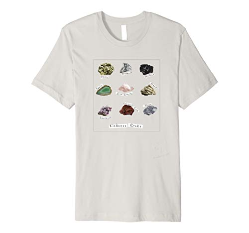 - Kindness Rocks Collector Geology Science T-Shirt