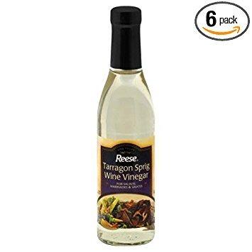 Reese Vinegar, Tar Sprig, 12.70-Ounce (Pack of 6)