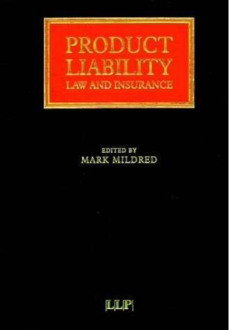Product Liability: Law and Insurance pdf epub