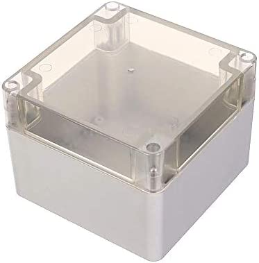WANGZHI - Caja de plástico impermeable para proyectos electrónicos (120 x 120 x 90 mm): Amazon.es: Electrónica
