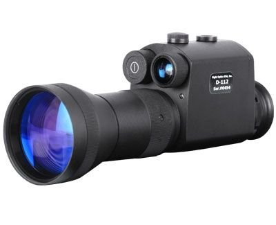 Night Optics USA Guardian 3.6X Gen 1+ Night Vision Monocular NM-112 -