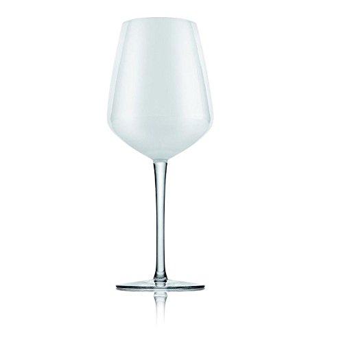 IVV Calice Vino Vetro Bianco Trasparente Convivium Set 6 Bicchieri