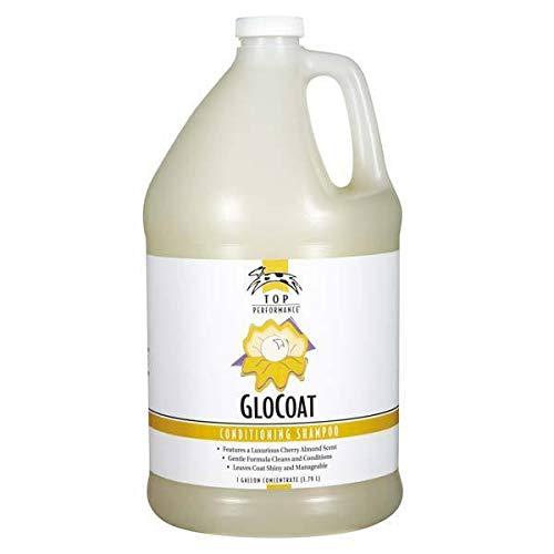 (MPP Professional Glo Coat Dog Shampoo Luxurious Shine Cherry Almond Scent Detangler (Gallon) )