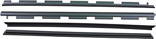 APDTY 134001 Weatherstrip Front Left & Right Inner & Outer Rubber Dew Wipe Set Fits 1999-2000 Cadillac Escalade 1988-2002 Chevrolet or GMC Pickup 1992-1999 Blazer GMC Jimmy Tahoe GMC Yukon ()
