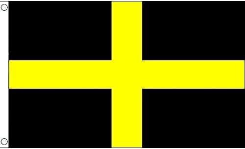 AZ FLAG Bandera de San David 250x150cm - Gran Bandera Dewi Sant - PATRÓN DE Gales 150 x 250 cm: Amazon.es: Hogar
