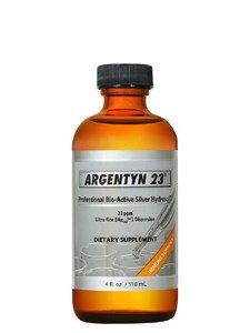 Argentyn 23 Professional Bioactive Silver Hydrosol 23 PPM Screw Top, 4 Ounce