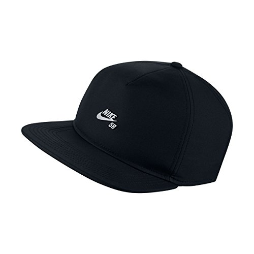 Nike SB Dri-Fit Performance Strapback Hat, Black (Black)