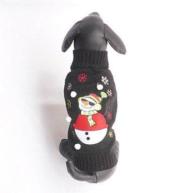 Cane costumi abbigliamento per cani cosplay cartoni animati nero