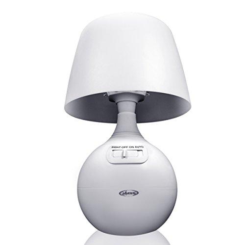 LED Concepts Motion Sensor 12 LED Portable Table Lamp and Ni