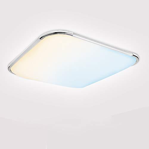 BMOT 18W LED Deckenleuchte Dimmbar, 2700K-6500K, IP44 Led Deckenlampe dimmbar mit Fernbedienung, Lichtfarbe und Helligkeit einstellbar, Schlafzimmerlampe, Wohnzimmerlampe, Ø39cm