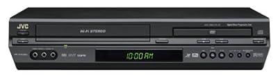 JVC HRXVC26U Progressive-Scan DVD/VCR Combo , Black