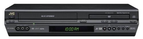 JVC HRXVC26U Progressive-Scan DVD/VCR Combo, Black