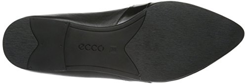 ECCO Akita, Bailarinas para Mujer Negro (BLACK/BLACK51052)