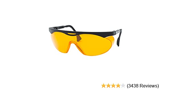 855f0c3dbb Uvex Skyper Blue Light Blocking Computer Glasses with SCT-Orange Lens  (S1933X) - Safety Glasses - Amazon.com
