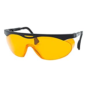 Uvex Skyper Blue Light Blocking Computer Glasses with SCT-Orange Lens (S1933X)