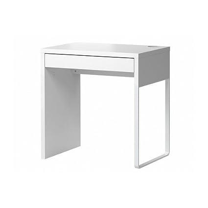 IKEA MICKE   Scrivania, Dimensioni: 73 X 50 Cm, Colore: Bianco