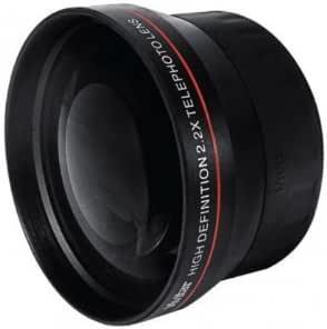 2.2x Telephoto Lente Conversion para Nikon D3000, D3100