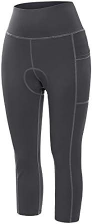 Kimmery Women's Gel Padded Cycling Pants Breathable Bike Ca