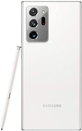 Samsung Electronics Galaxy Note 20 Ultra 5G Factory Unlocked Android Cell Phone, US Version, 128GB of Storage, Mobile Gaming Smartphone, Long-Lasting Battery, Mystic White
