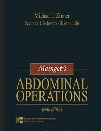By Michael J. Zinner - Maingot's Abdominal Operations, Vols. I and II: 10th (tenth) Edition - Maingots Abdominal Operations