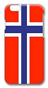 ACESR Slim iPhone 6 Cases, Norway Flag PC Hard Case Cover for Apple iPhone 6 (4.7 INCH) - 3D Design iPhone 6 Case