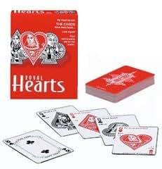Royal Hearts Card