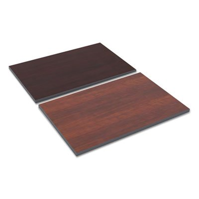 Alera TT3624CM Reversible Laminate Table Top, Rectangular, 36w X 24d, Medium Cherry/Mahogany