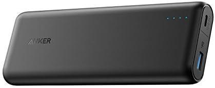 Anker PowerCore Speed 20000 PD[Power Delivery], bateria externa cargador portátil 20100mAh para MacBooks iPhone 8 / X y USB tipo C: Amazon.es: Electrónica
