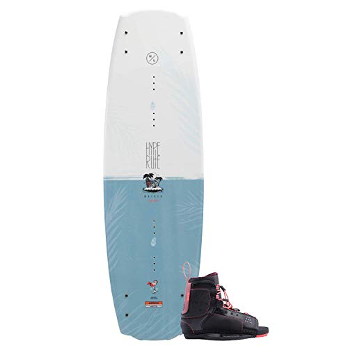 Hyperlite Maiden Wakeboard 134cm with Jinx Boot Size 4-8.5